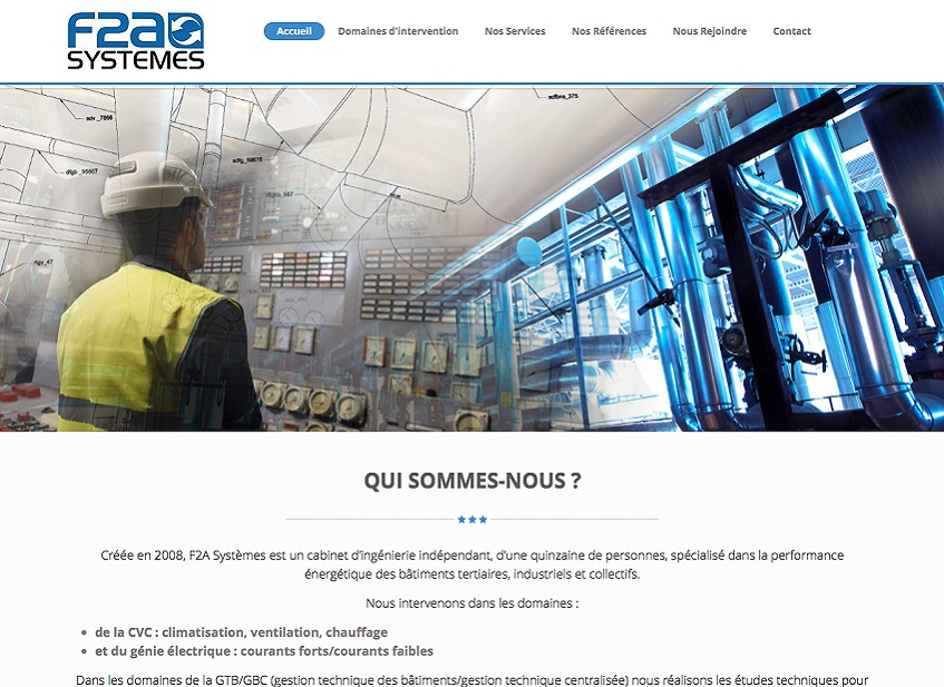 Site Dynamique F2asystemes