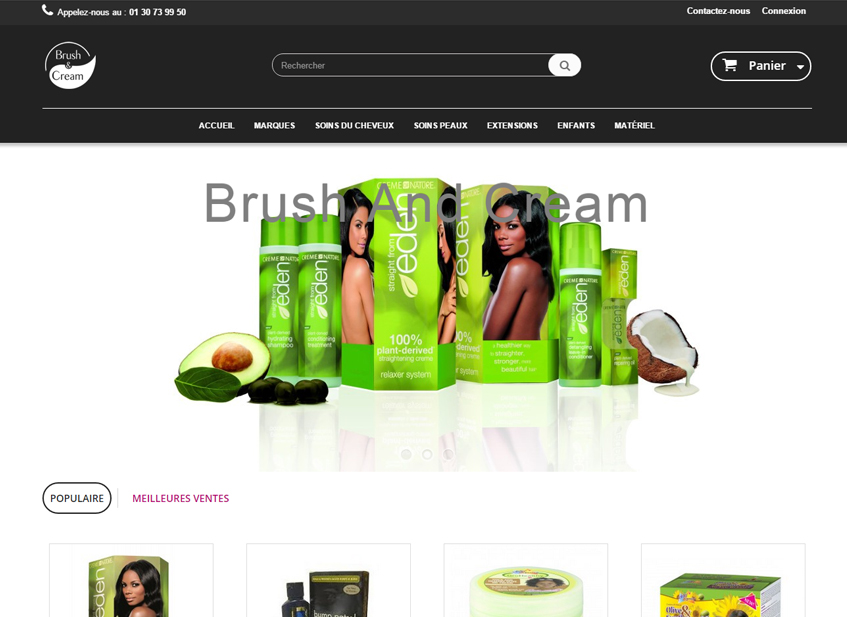 Site Marchand Brush And Cream